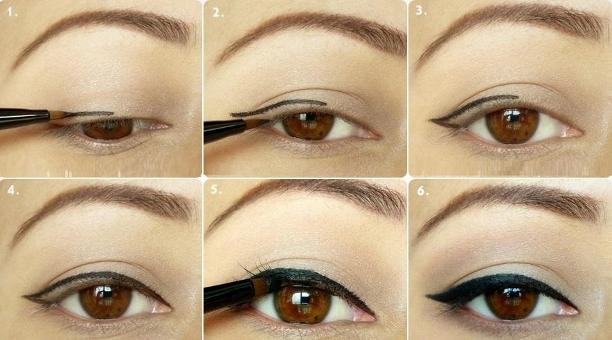 liquid eyeliner tutorial