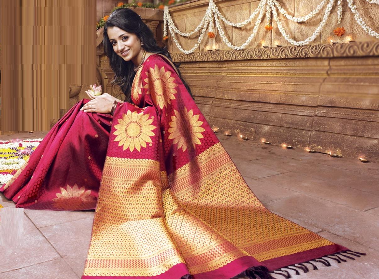 Designer-Embroidered-Indian-Bridal-Sarees (9)