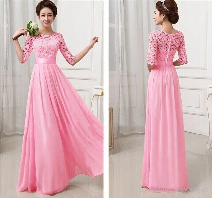 pink net maxi