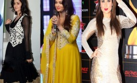 Bollywood Celebrity Fashion Updates - Indian Celebrity Dresses 2017 Collection