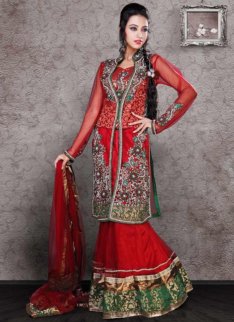 Indian-Bridal-Lehenga-Choli-Designs (22)