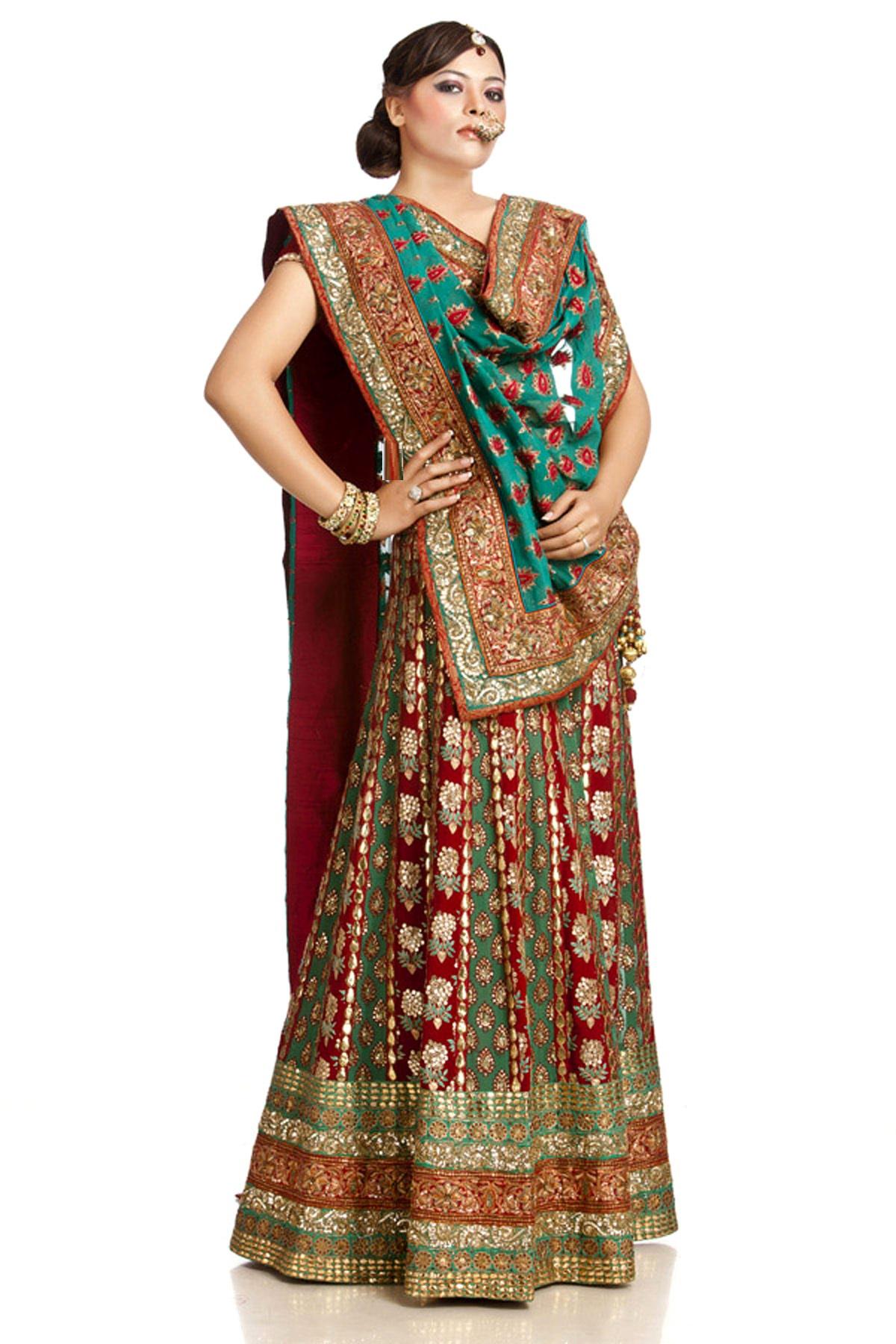 Indian-Bridal-Lehenga-Choli-Designs (6)
