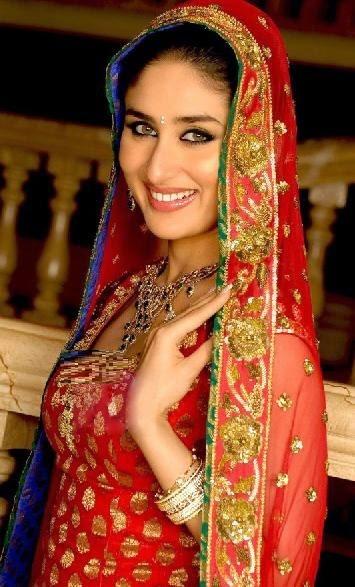 Kareena Kapoor in Red Bridal Dress