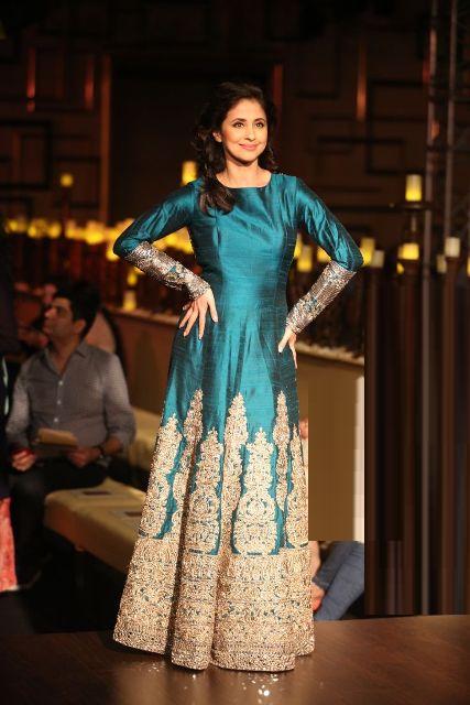 Urmila Matondkar in Silk Wedding dress