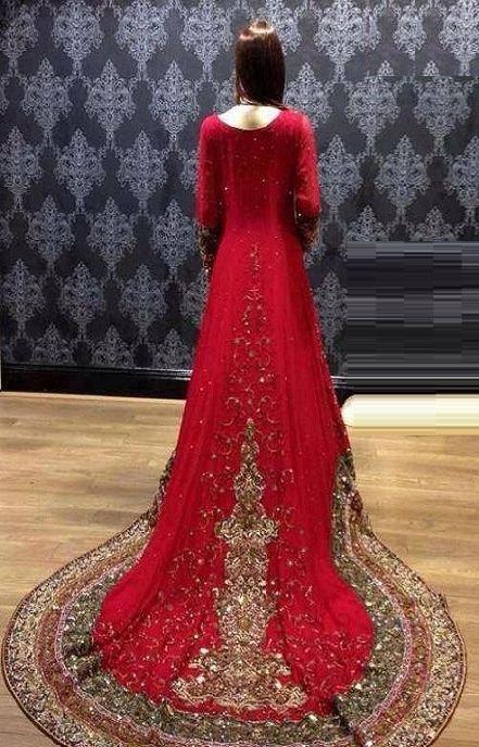 Long Tailed Bridal Maxi