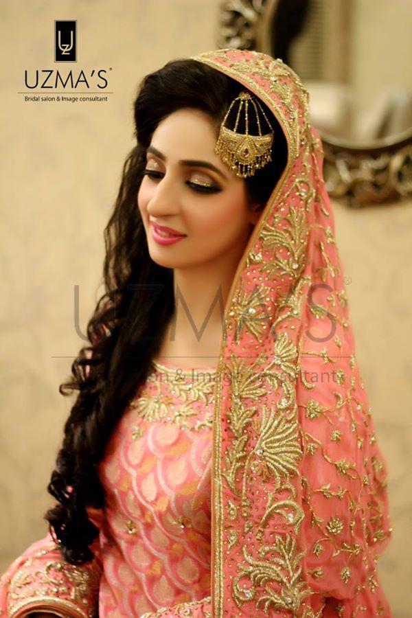 Designer Pink Bridal Dress
