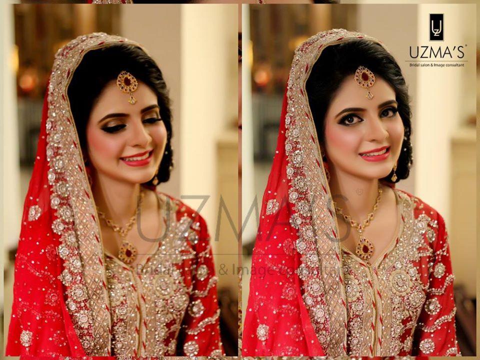 Designer fresh red Bridal Dress