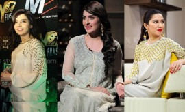 Latest Pakistani Celebrity Dresses 2017 Trends- Celebrity Fashion Updates