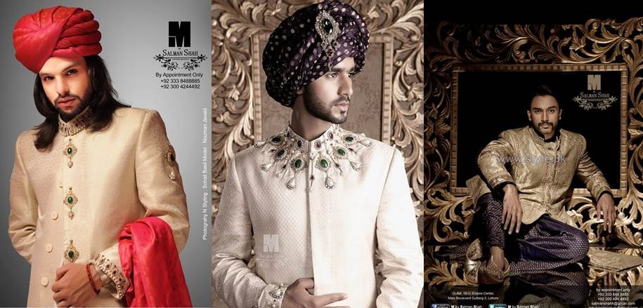 Pakistani Designer grooms dresses