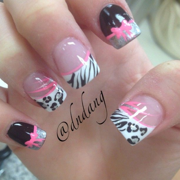 Best-Bow-Nail-Art-designs-with-Tutorials (20)