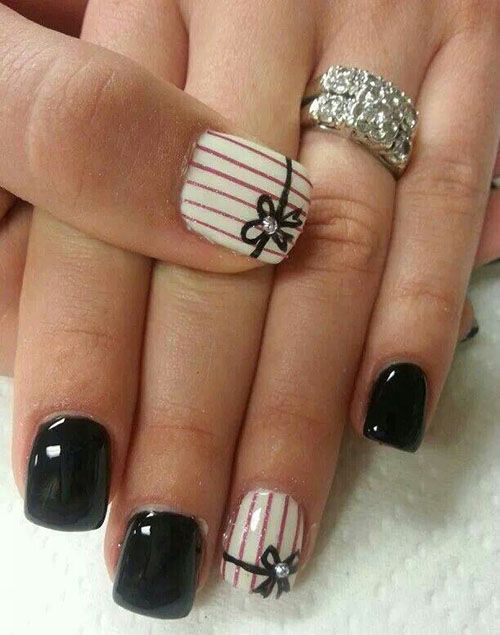 Best-Bow-Nail-Art-designs-with-Tutorials (23)