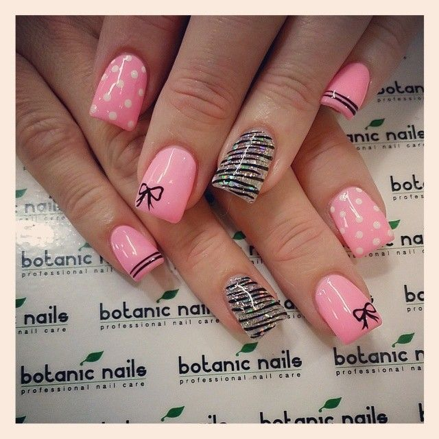 Best-Bow-Nail-Art-designs-with-Tutorials (26)