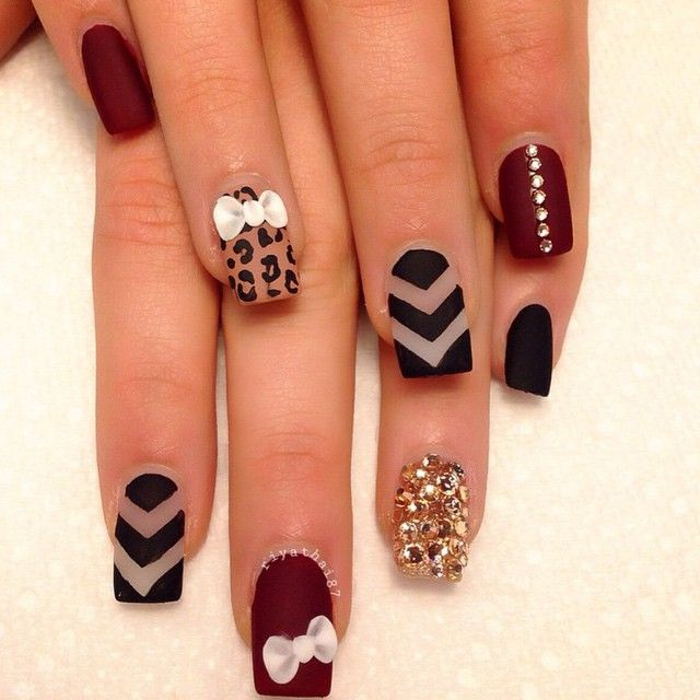 Best-Bow-Nail-Art-designs-with-Tutorials (31)