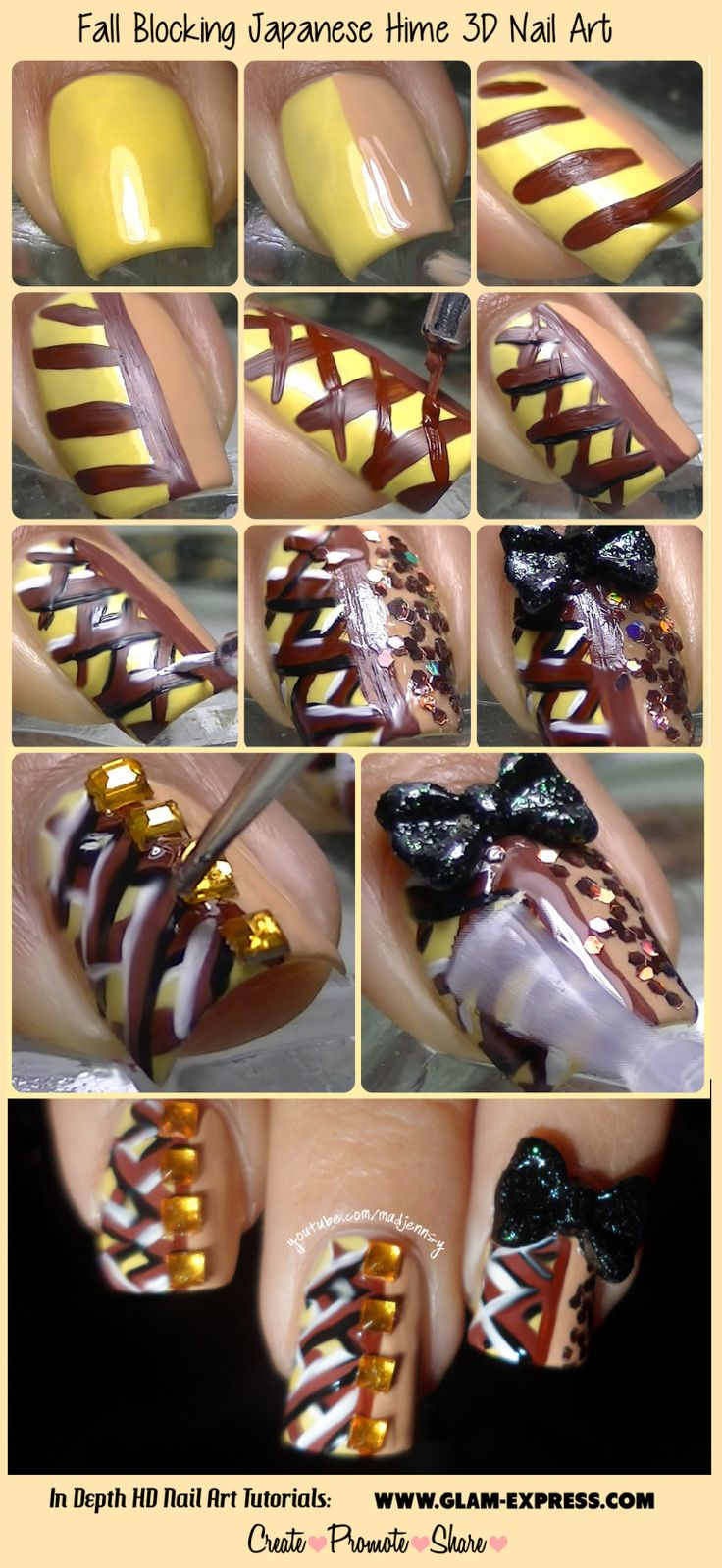 Best-Bow-Nail-Art-designs-with-Tutorials (5)