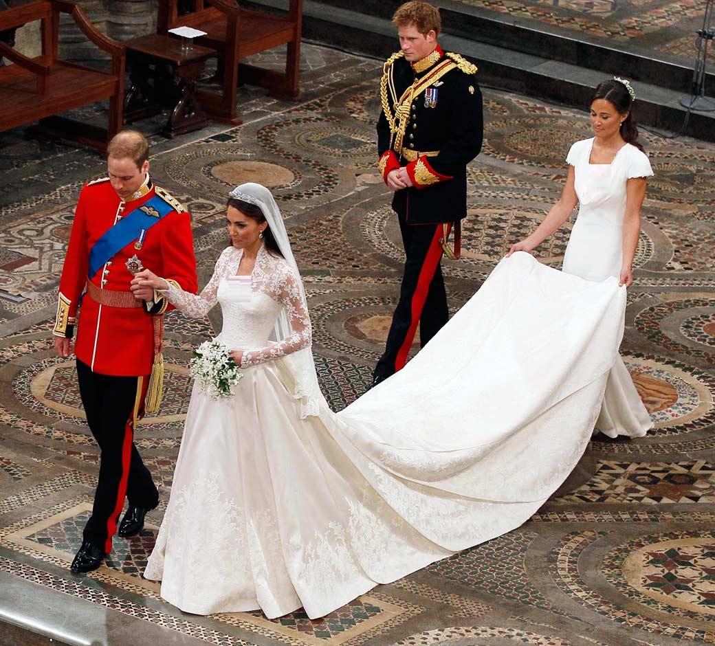 Royal Christian bridal dress