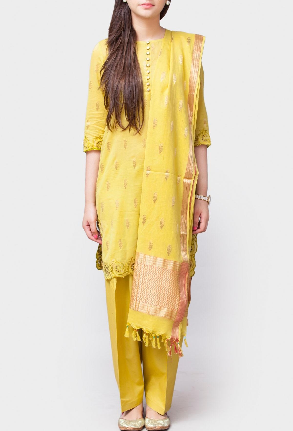 formal Banarasi Kaviya Hem Suit