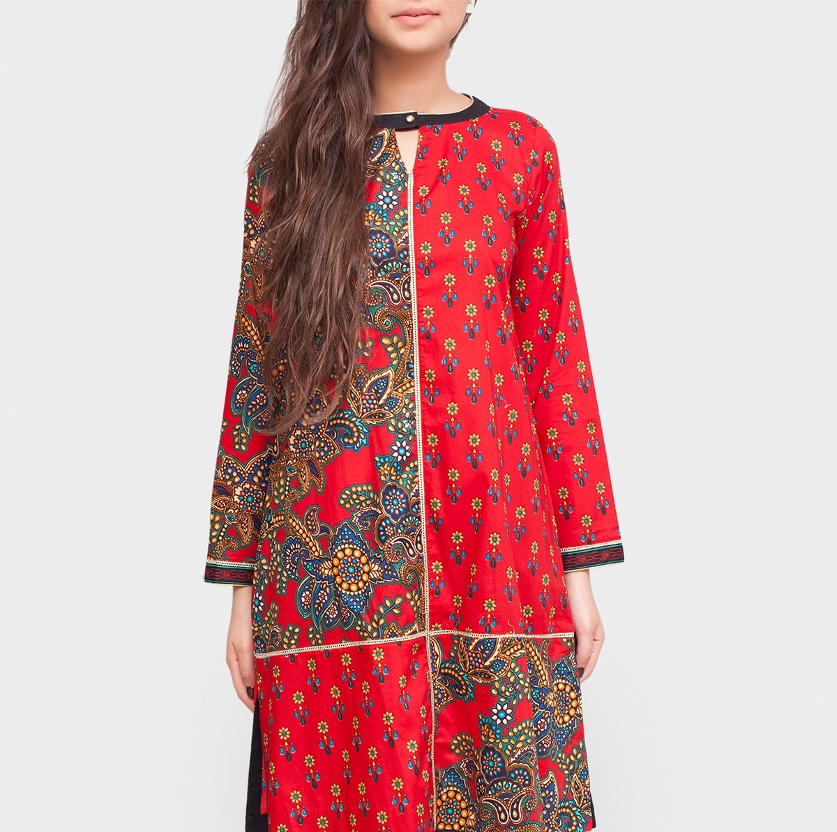 red cambric winter shirt by generation