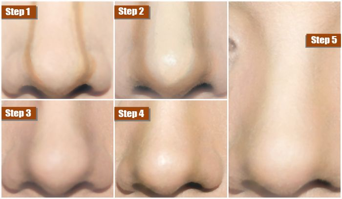 How-to-make-your-nose-look-thinner-with-make-up (10)