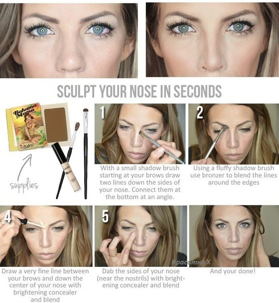 How-to-make-your-nose-look-thinner-with-make-up (20)