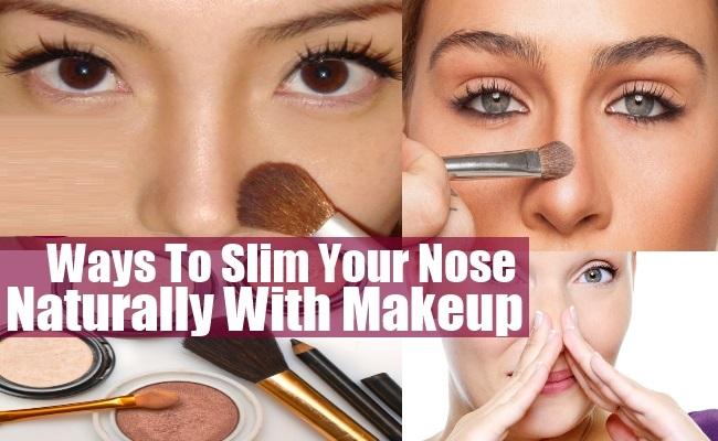 nose thinning makeup