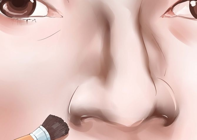 How-to-make-your-nose-look-thinner-with-make-up (5)