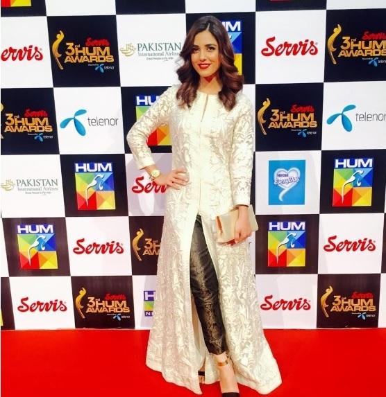 Maya Ali at Hum Awards