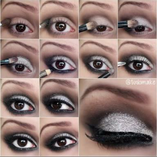 How-to-do-shimmery-face-makeup-tutorial (2)