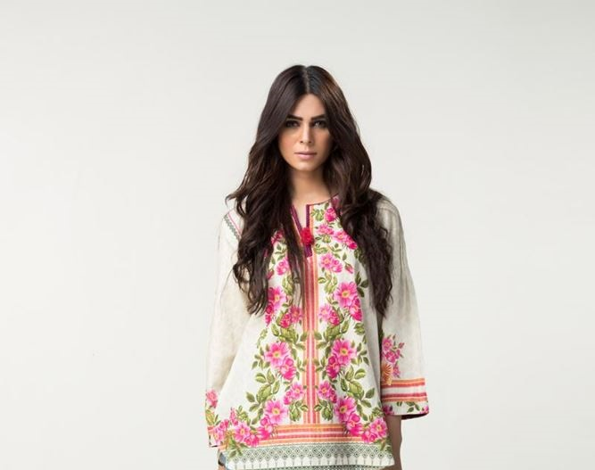 floral winter top by outfitters
