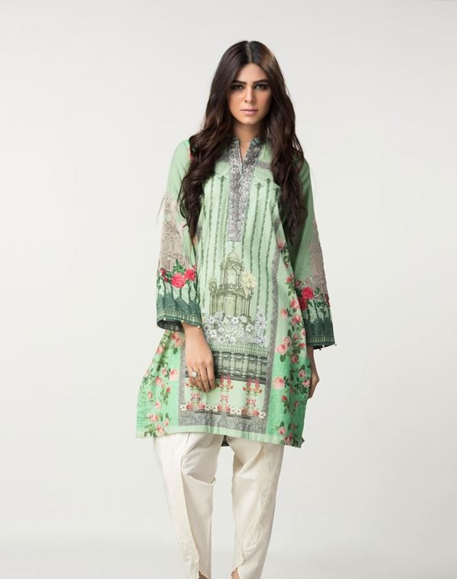 digital printed winter shirt by ethnic