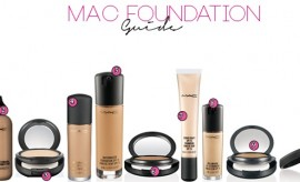Top 10 Best Selling MAC foundations for all skin types