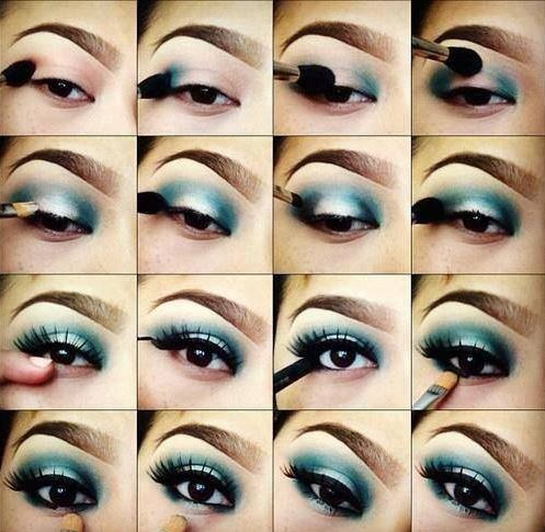 how-to-do-shimmery-face-makeup-tutorial (13)