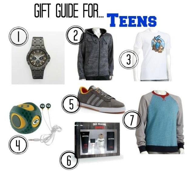 teenage guys christmas gift ideas