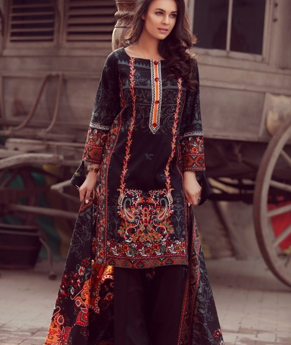 Libas embroidered Winter Collection 2017