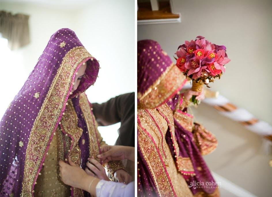 bridal dupatta setting tutorial