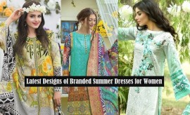 Branded Lawn Summer Dresses by Famous Pakistani Clothing Brands
