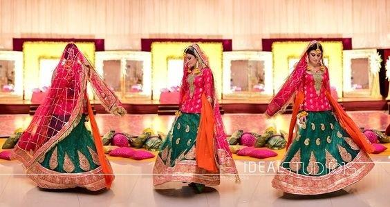 Wedding-Ghagra-Choli-Designs-for-Mehndi-Functions (25)
