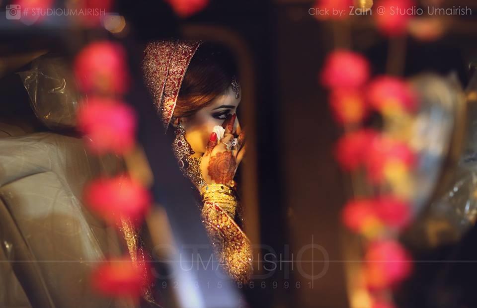 Superb Bridal photoshoot by Studio Umairish