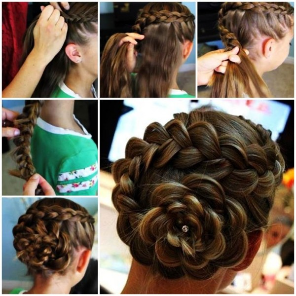 how to do french braid 22