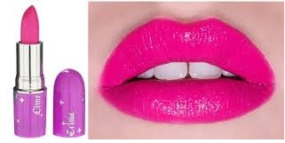 shocking pink lips