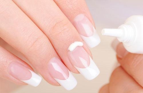 nail whitening natural tips