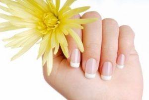 vitamen E for yellow nails