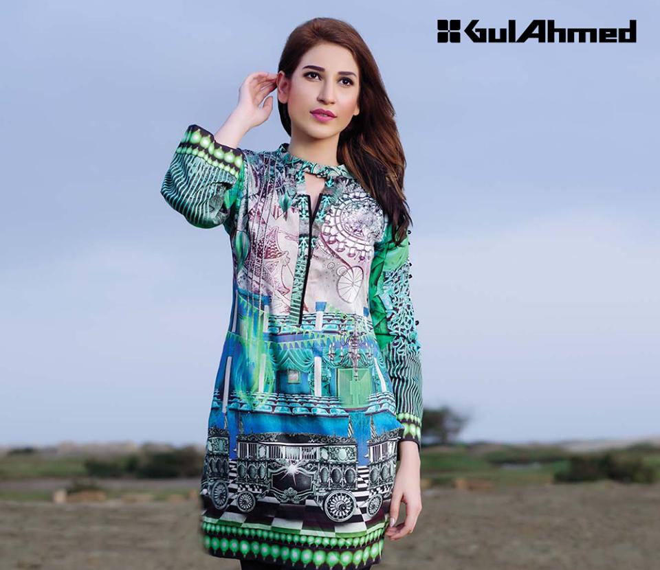 Gul Ahmed Single Shirt