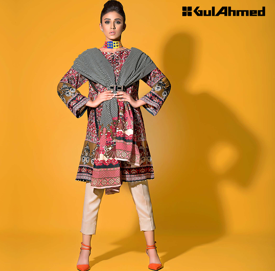 Gul Ahmed Linen Suits