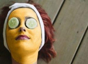 organic facial tutorial