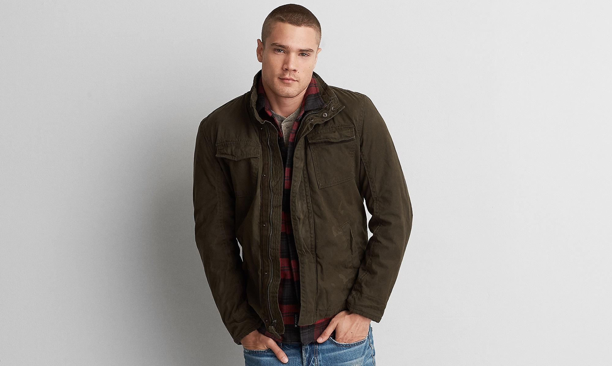 Waxed Workwear Jacket for winter 2016-2017