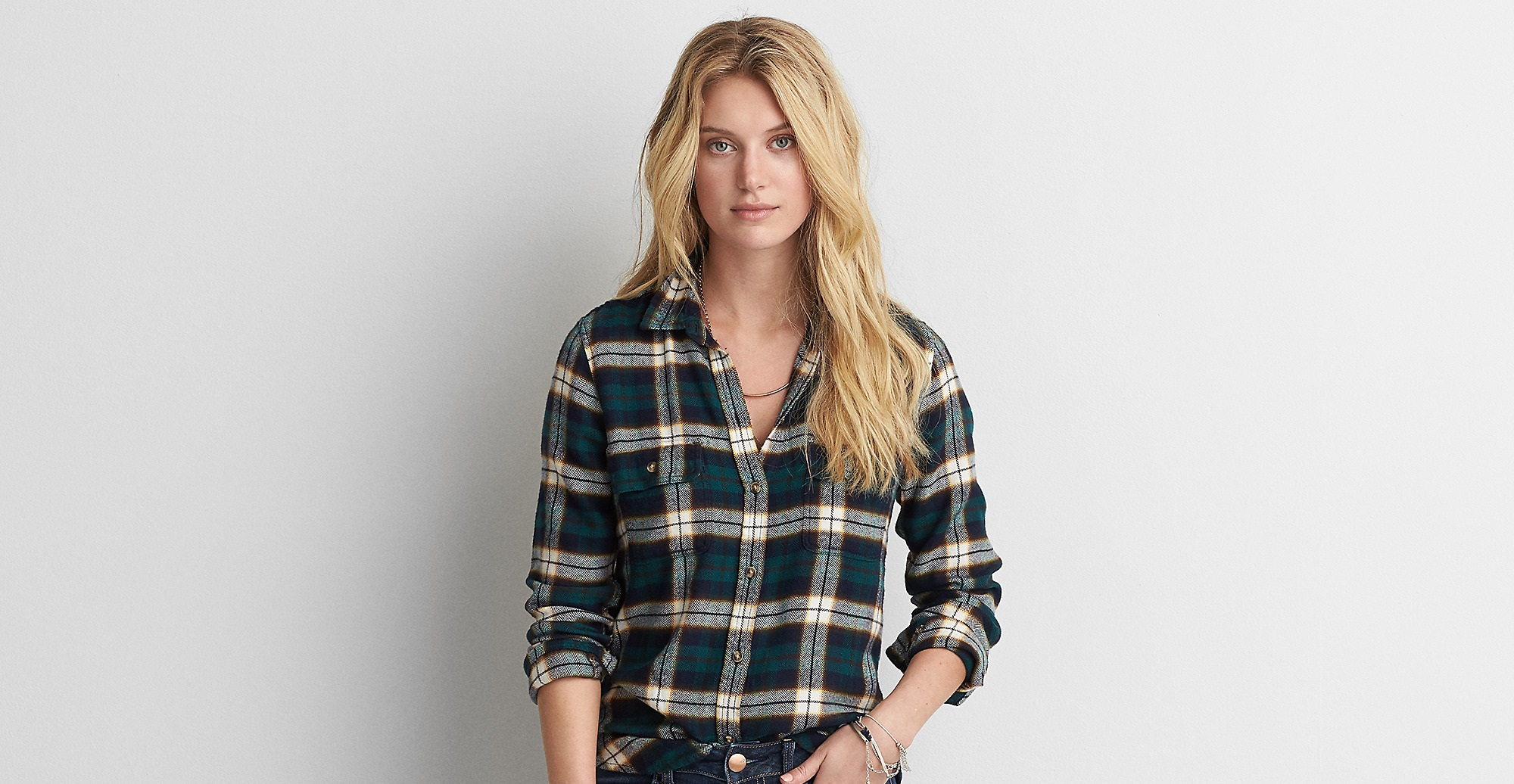 American eagle outfitters Ahh Mazingly Soft Flannel Shirt Jacket