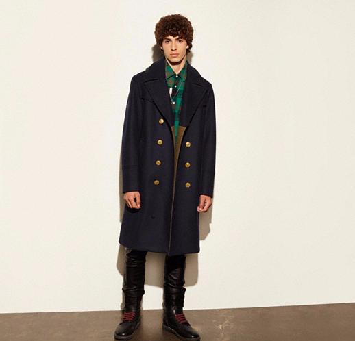 Wool Captians Long Coat