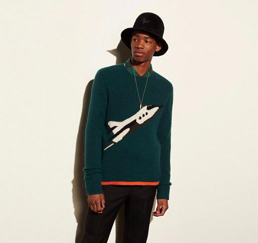 Rocket Ship Sweatshirt 2016 design by Coach