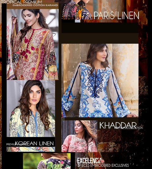 Firdous Winter Collection 2016-2017