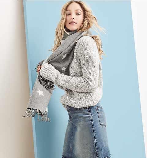 Gap Winter Marled Long sweater